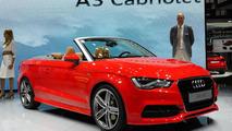 2014 Audi A3 Cabriolet live at 2013 Frankfurt Motor Show 11.09.2013