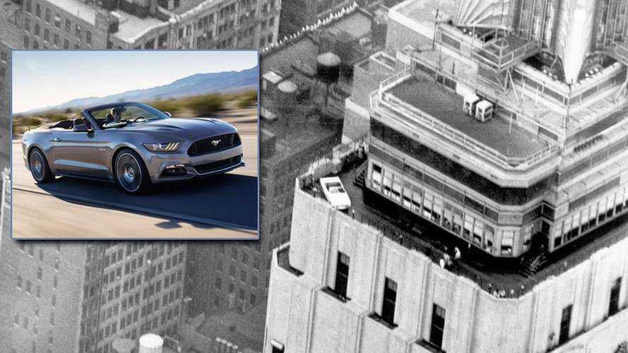 Ford to display 2015 Mustang Convertible on the 86th floor of the Empire State Building