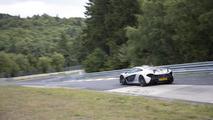 McLaren P1 at Nurburgring