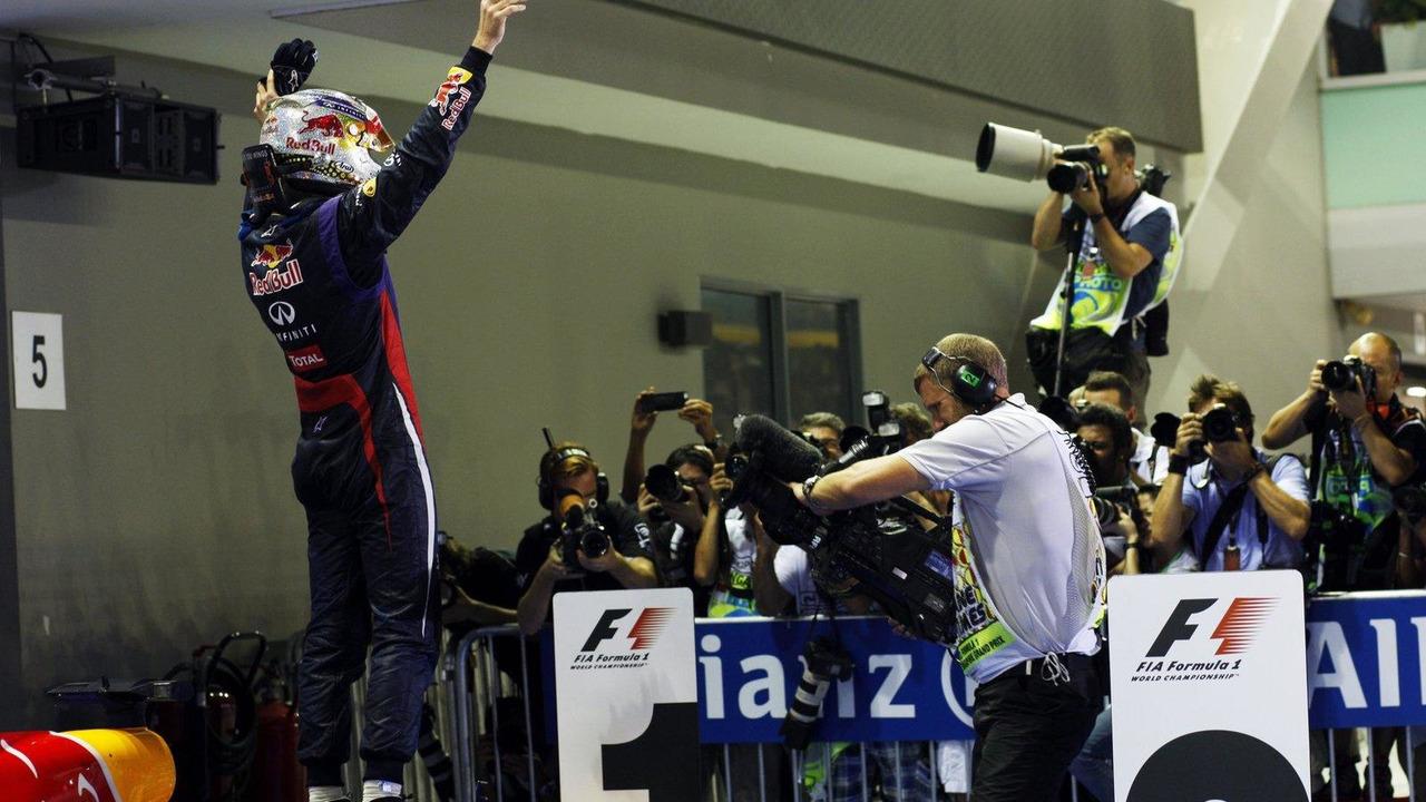 Sebastian Vettel (GER) 22.09.2013 Singapore Grand Prix