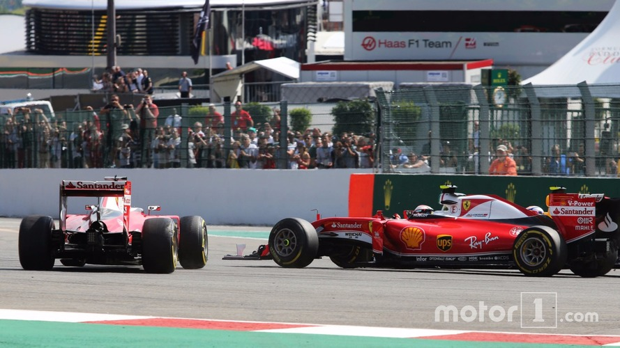 Vettel blames Verstappen for first-corner crash