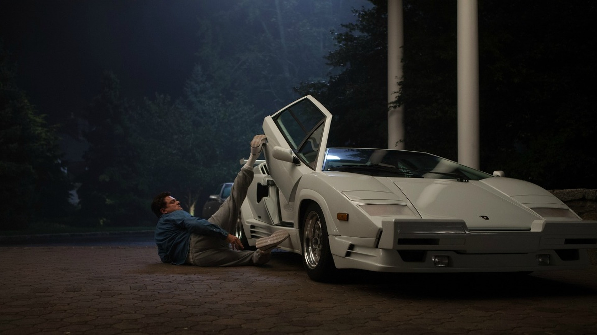Wolf Of Wall Street Directors Wrecked A Real Lamborghini Countach - The wolf of wall streets ferrari is now up for sale