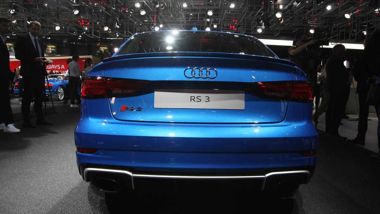 Audi Rs3 Sedan With 400 Hp Debuts In Paris Arrives In U S