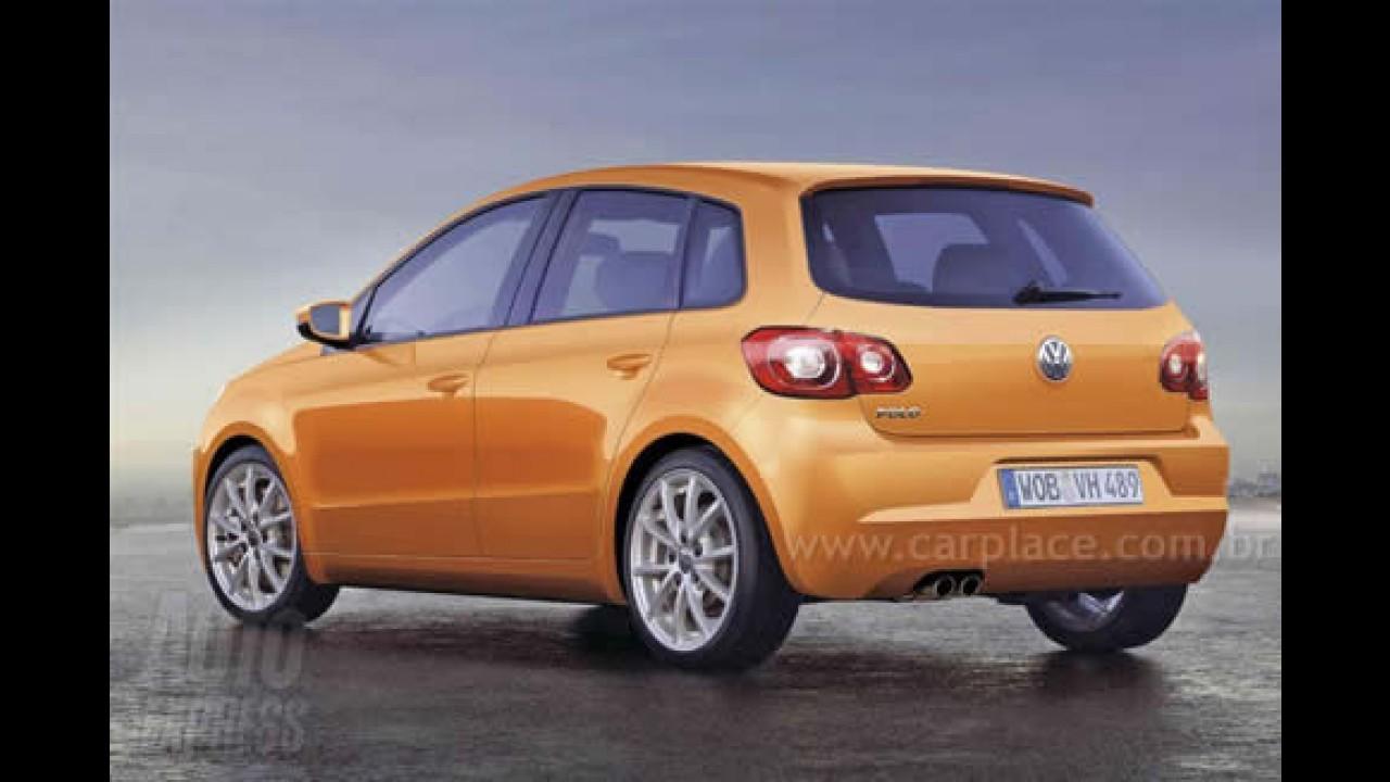 Segredo: Novo Volkswagen Polo - Veja Nova Geração que pode chegar em 2009