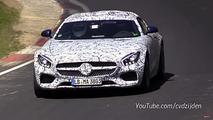 Mercedes-AMG GT C Spy Video