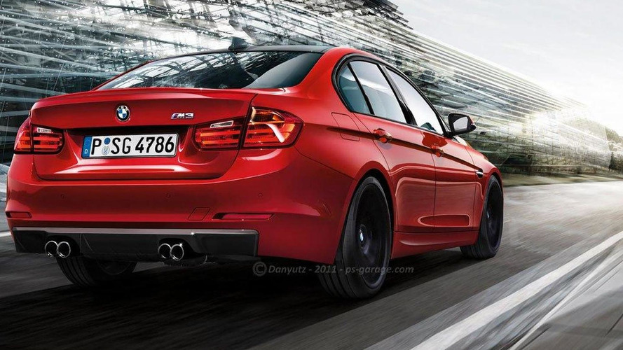 2014 BMW M3 and 3-Series Coupe rendered