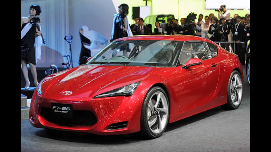 Salão de Tóquio: Toyota apresenta o esportivo FT 86 Concept