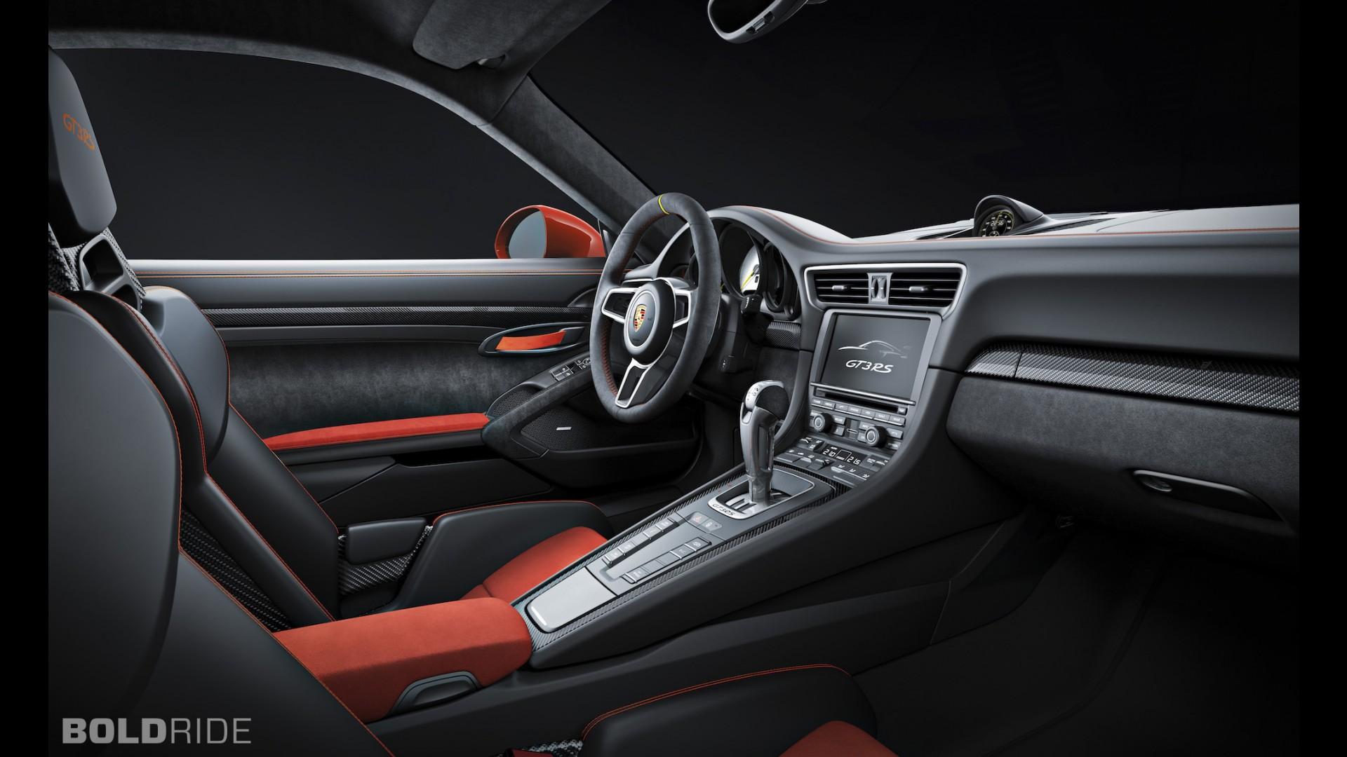 Интерьер Porsche 911 GT3 RS