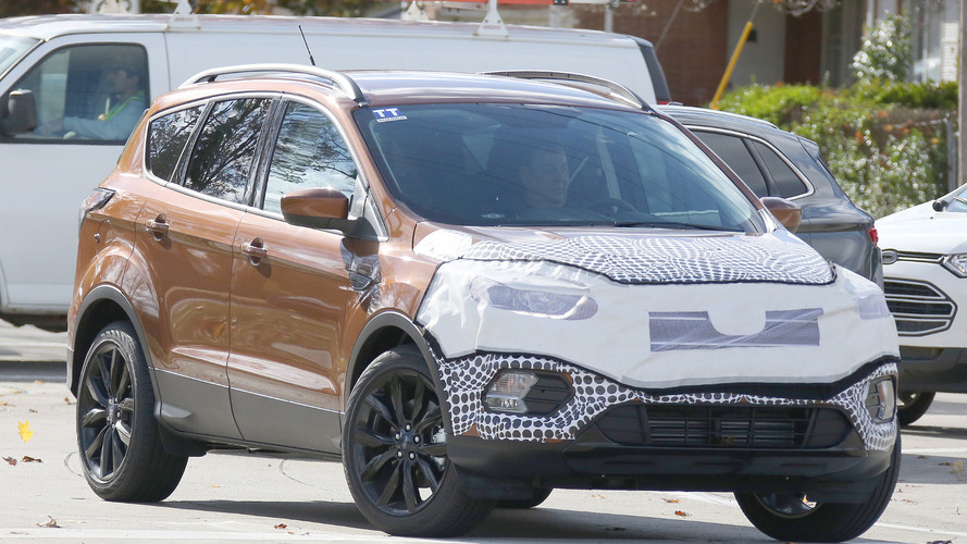 2017 Ford Escape / Kuga spied showing new details