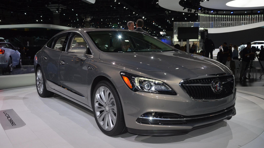 2017 Buick LaCrosse hits the street in a new promotional video