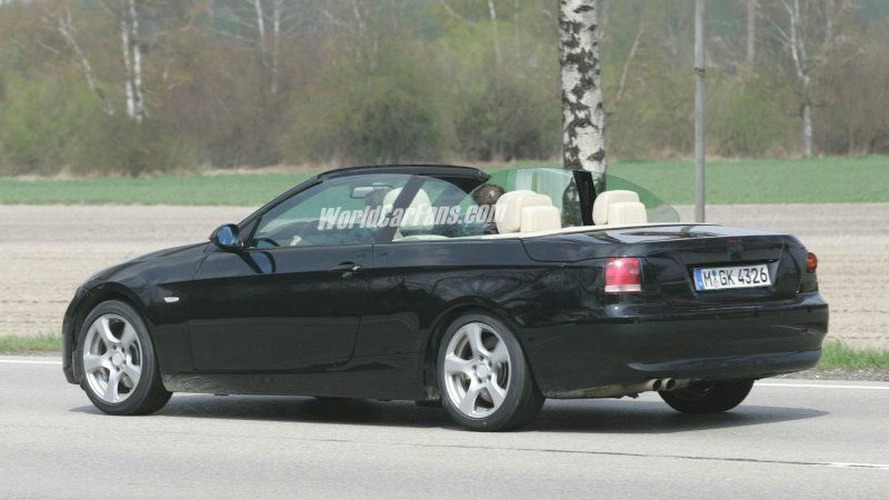 More BMW 3 Series Cabrio Spy Photos