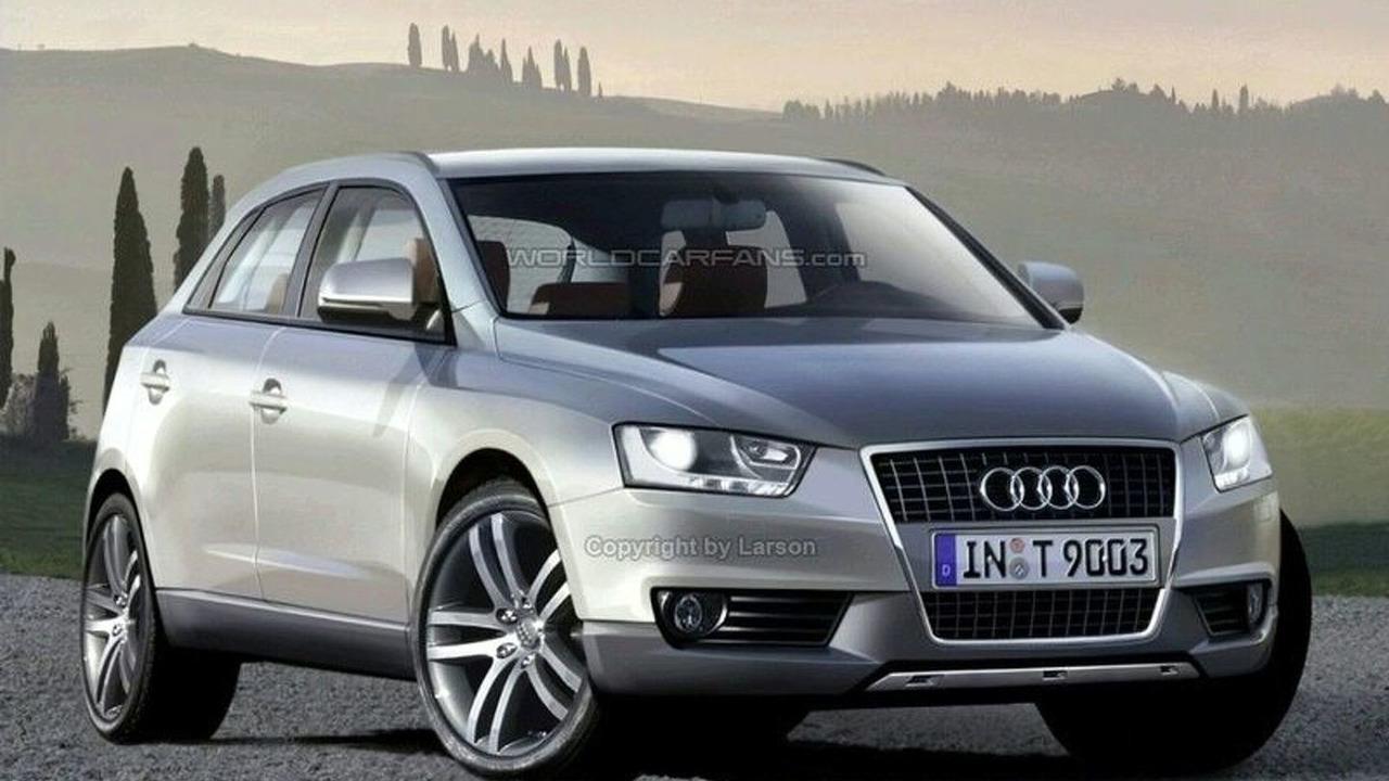 Audi Q5 - Artist's Rendering