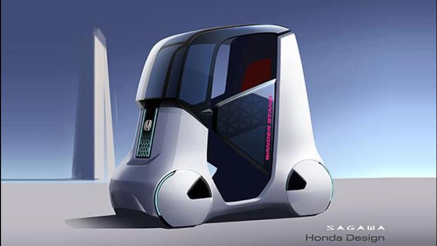 Honda Wander Stand Concept, libertà di movimento