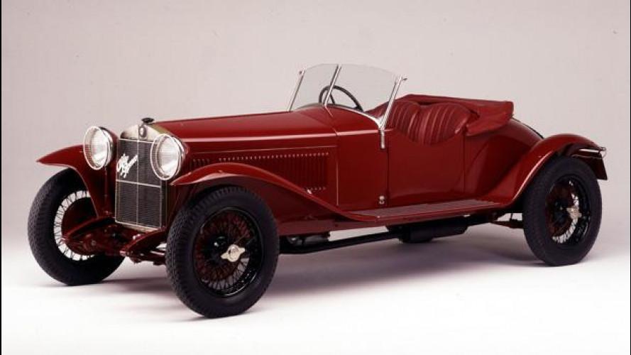 Alfa Romeo alla rievocazione storica della Mille Miglia 2012