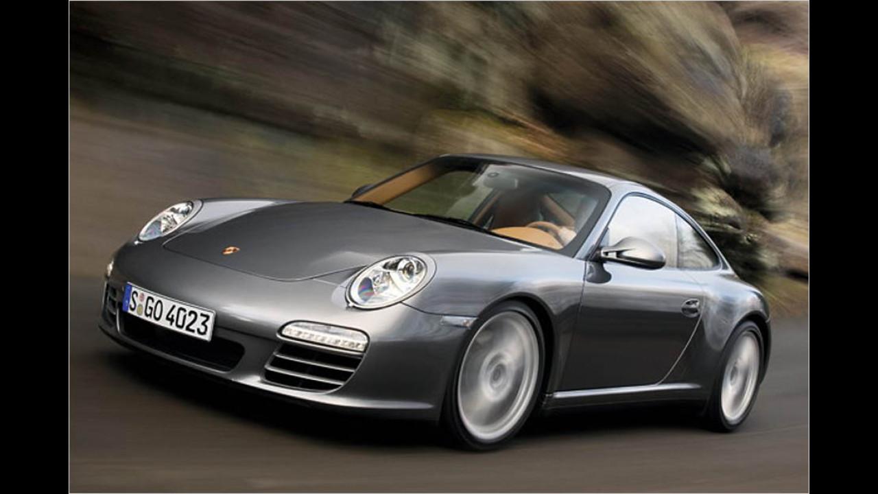 Die besten Autos bis 9 Jahre: Porsche 911