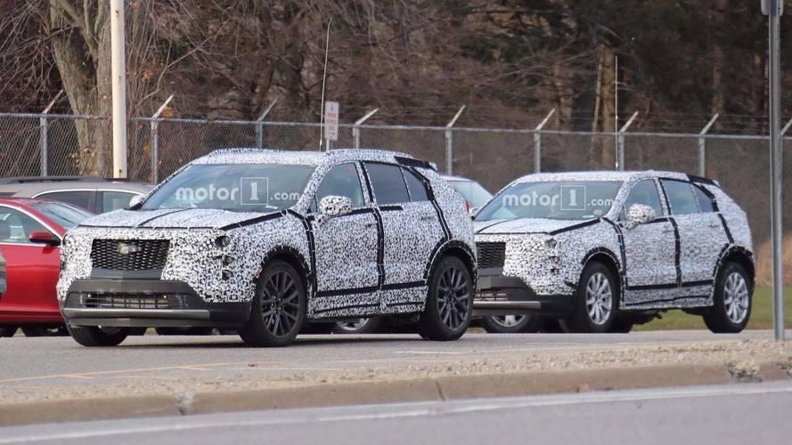 2019 Cadillac XT4 Kamuflajlı Fotoğraflar