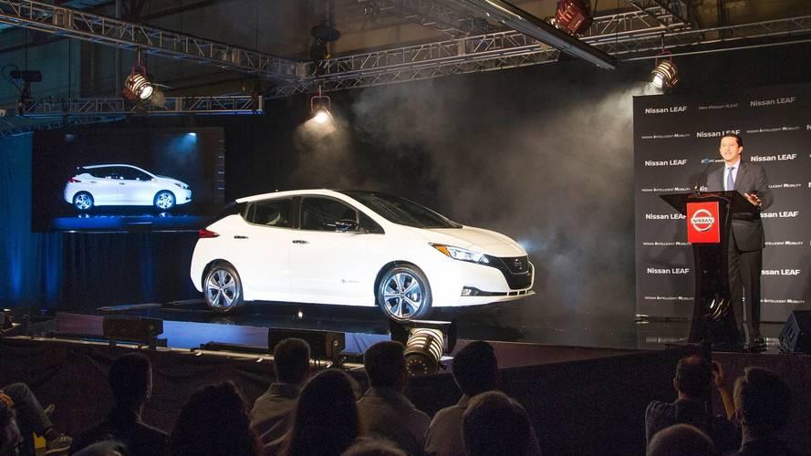2018 Nissan Leaf Production Kicks Off In U.S.