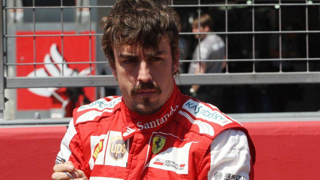 Fernando Alonso 07.07.2013 German Grand Prix
