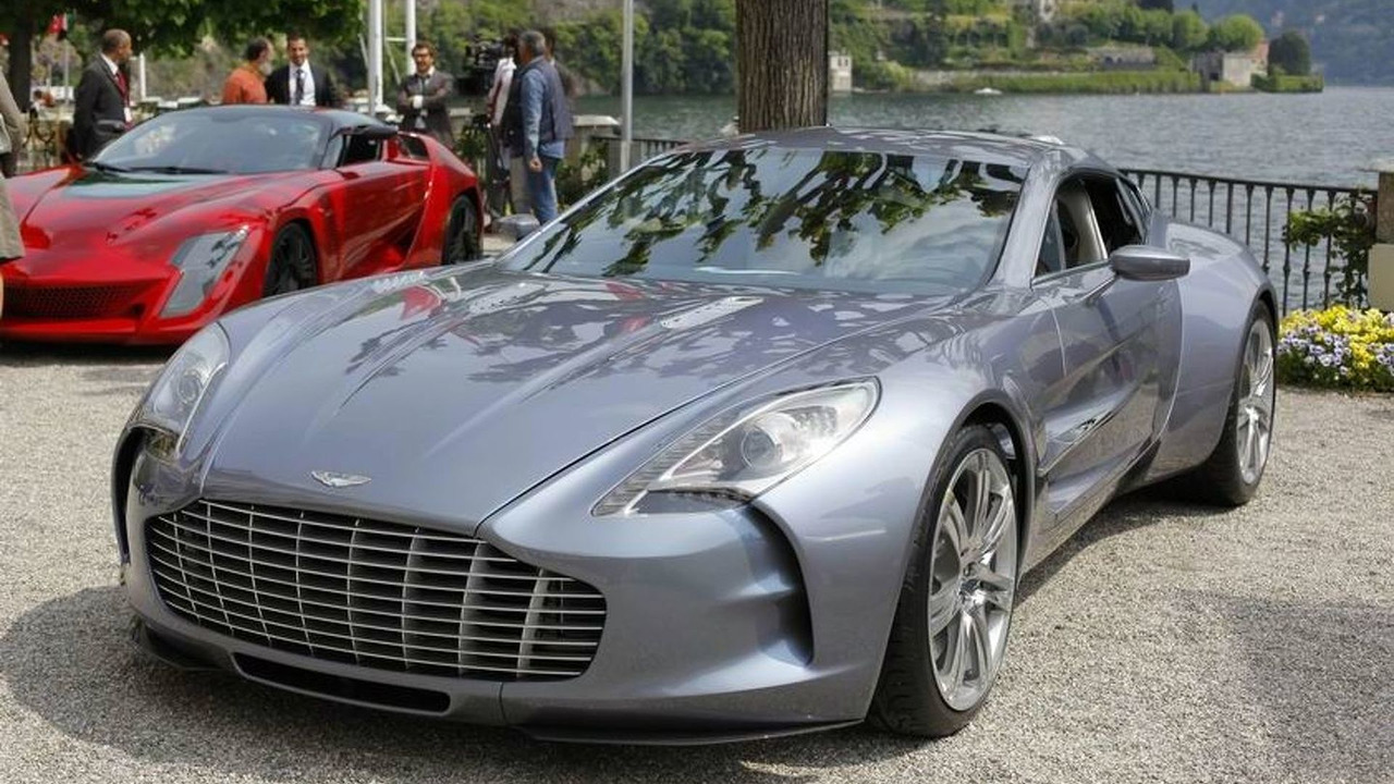 Concept Cars & Prototypes - ASTON MARTIN ONE-77, 2009