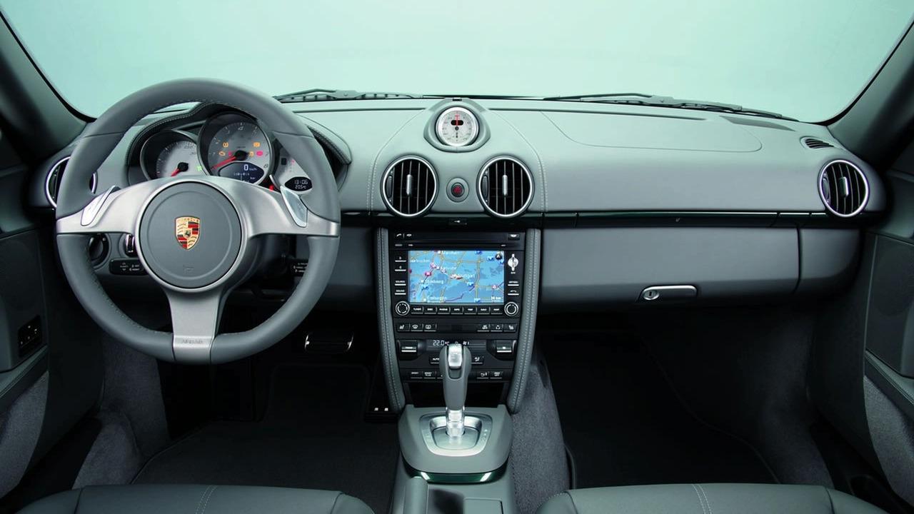 Porsche Cayman S Interior