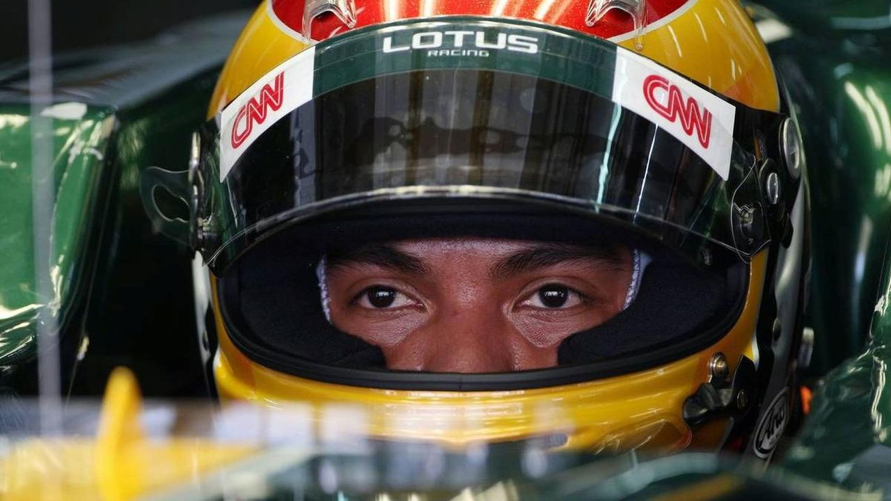 Fairuz Fauzy (MAL), Test Driver, Lotus F1 Team, Malaysian Grand Prix, 02.04.2010 Kuala Lumpur, Malaysia