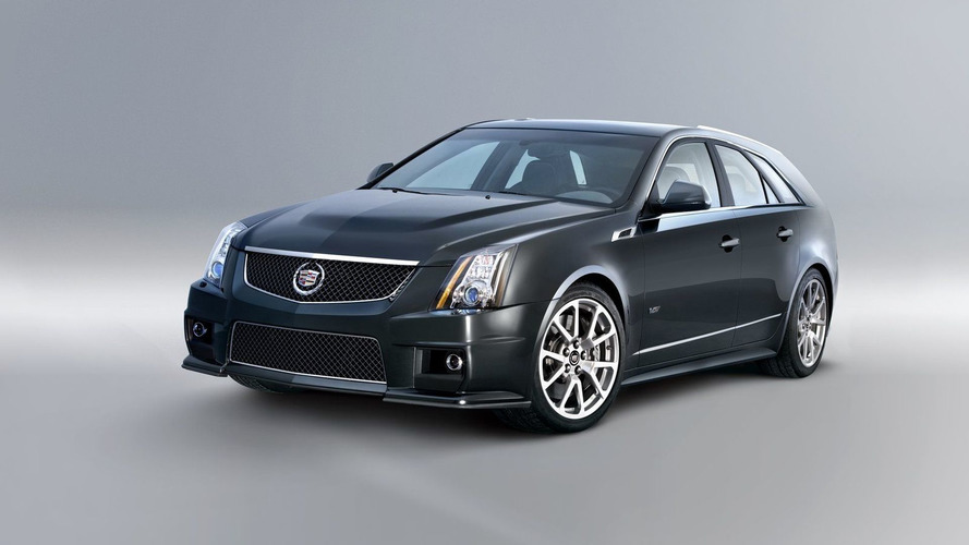 Cadillac CTS-V Sport Wagon Revealed Ahead of New York Debut