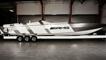 Mercedes SLS AMG Inspired Cigarette Racing Boat - 17.02.2010