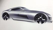 Desenhos oficiais do desenvolvimento do novo TVR