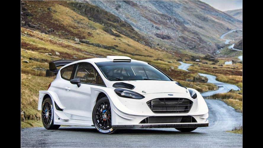 Der Fiesta RS WRC für 2017