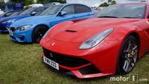 Ferrari F12, BMW M3, Audi RS6 Avant at 2017 Goodwood Festival of Speed