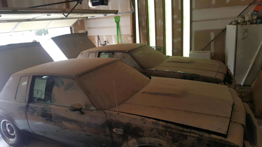 Buick Grand National Twins Found With Combined 1,399 Miles