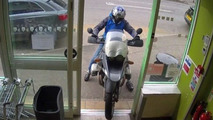 Motorcycle robbery in UK