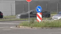 2018 Mercedes CLS prototype breaks down