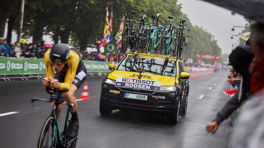 El Skoda Karoq ya luce en el Tour de Francia
