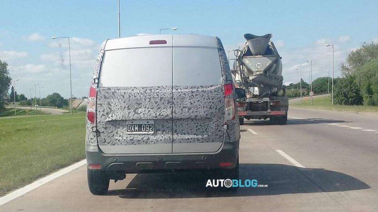 Dacia Kangoo - flagra