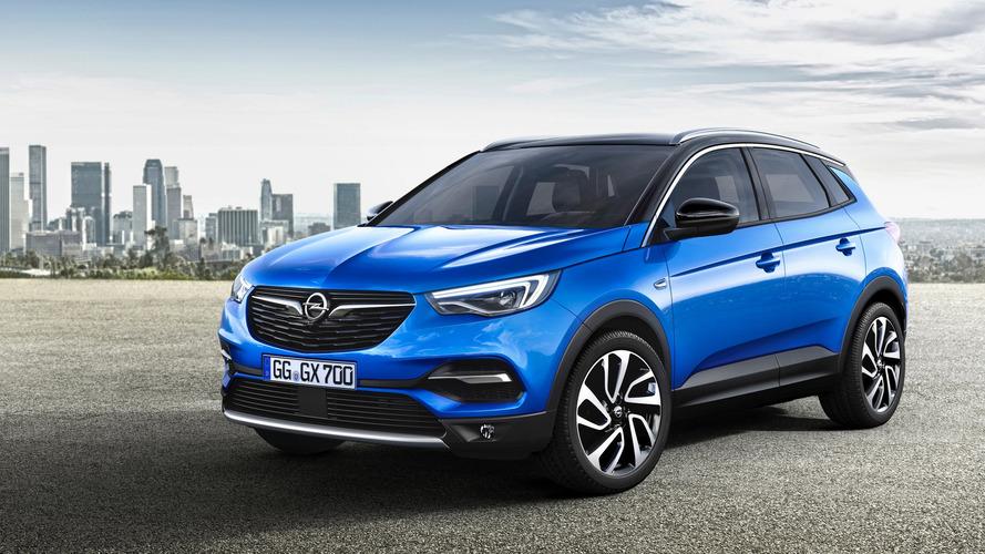 Opel Grandland X 2018: también con versión híbrida enchufable