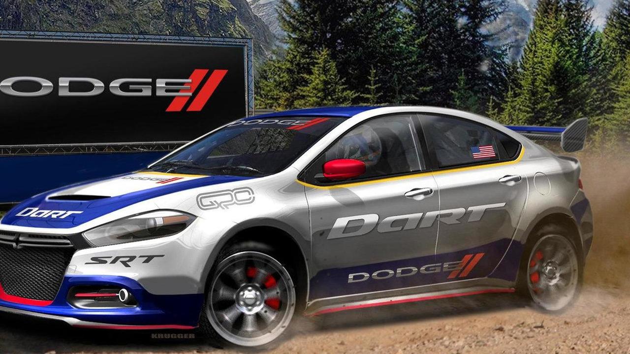 2013 Dodge Dart Rally Car 05.04.2012