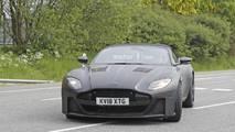 Aston Martin DBS Superleggera Volante spy photos