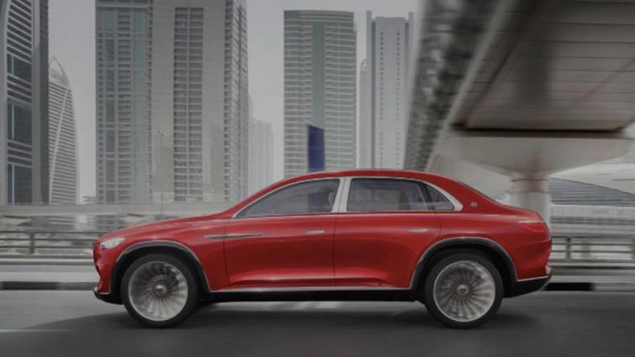 Mercedes-Maybach Ultimate Luxury Concept, le prime immagini