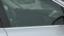2019 Mercedes GLE dashboard in spy video