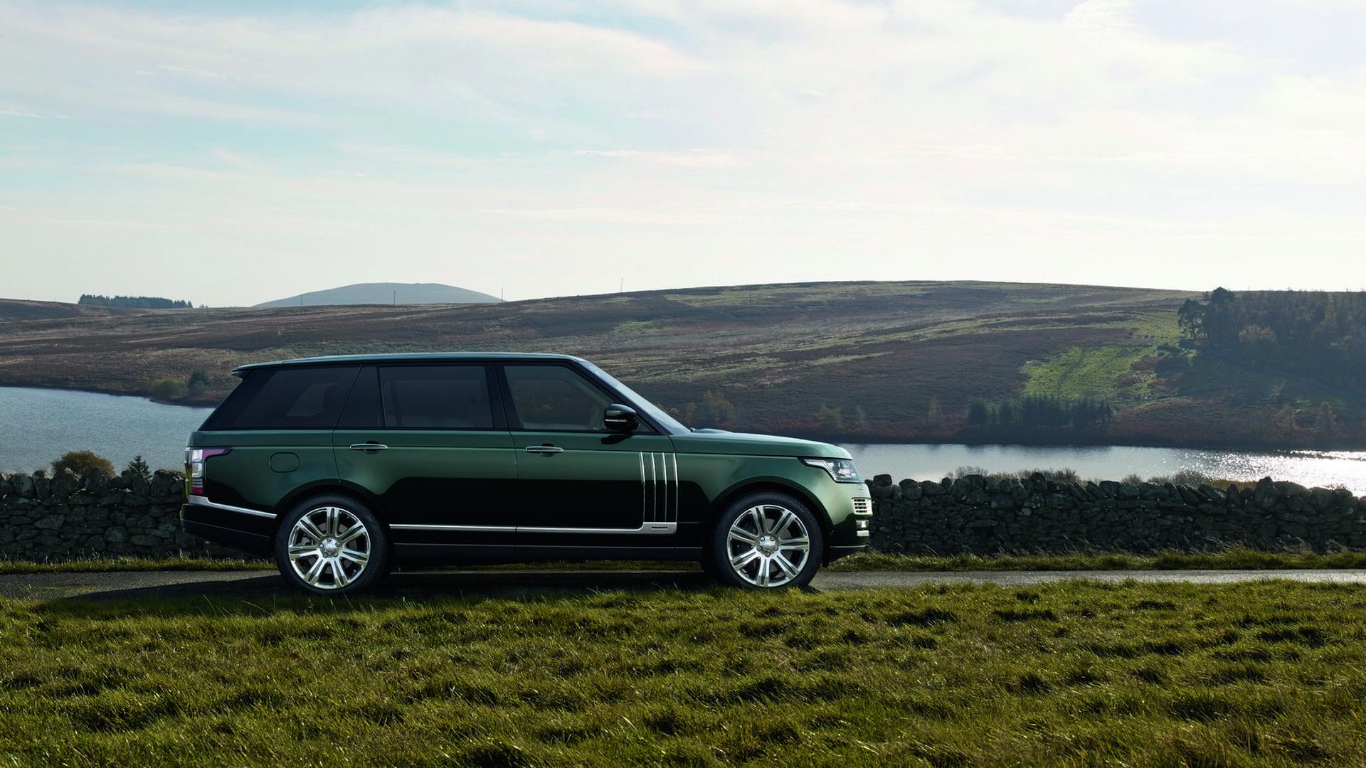 Самый дорогой Range Rover Holland & Holland