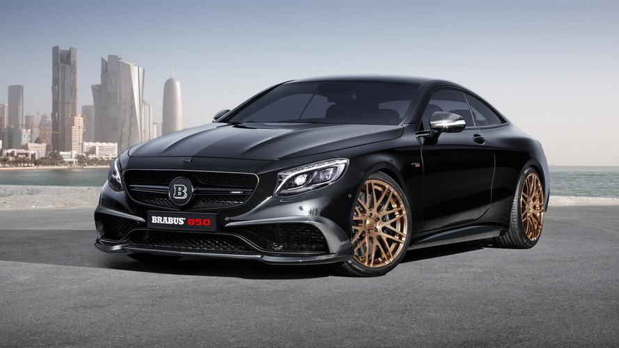 Brabus 850 6.0 Biturbo Coupe revealed ahead of Geneva debut