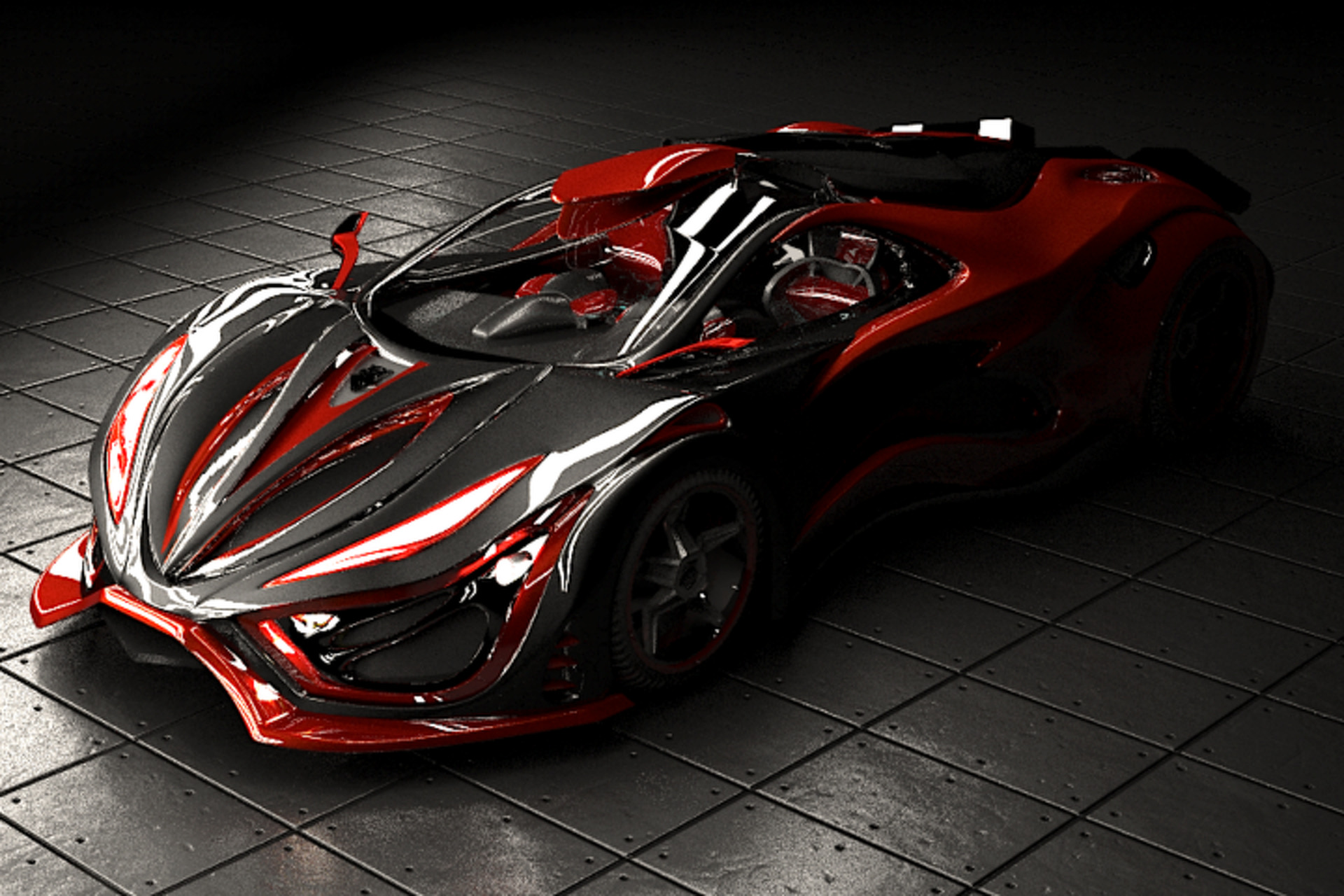 Inferno Exotic Car Is A Silly Fake Supercar