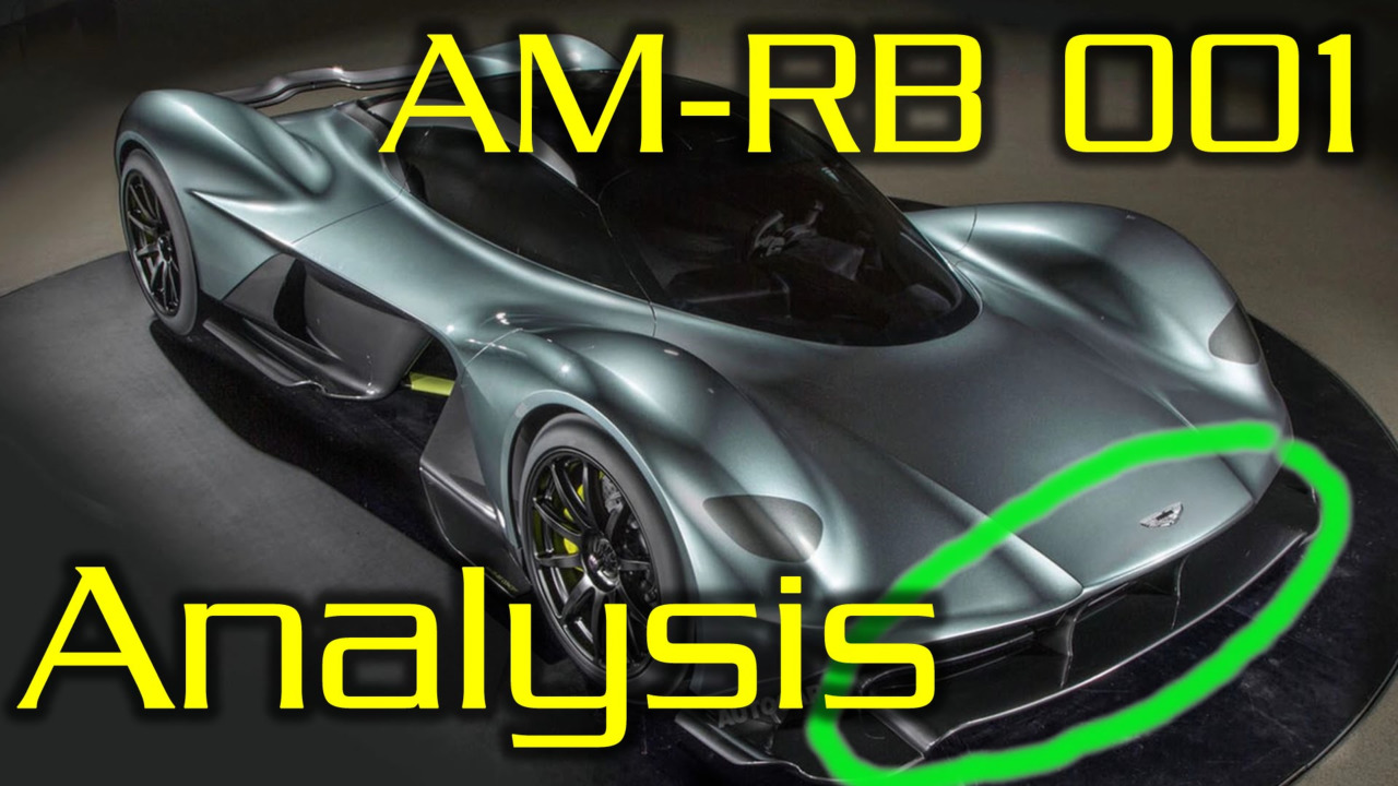 Aston Martin AM-RB001 aero explained