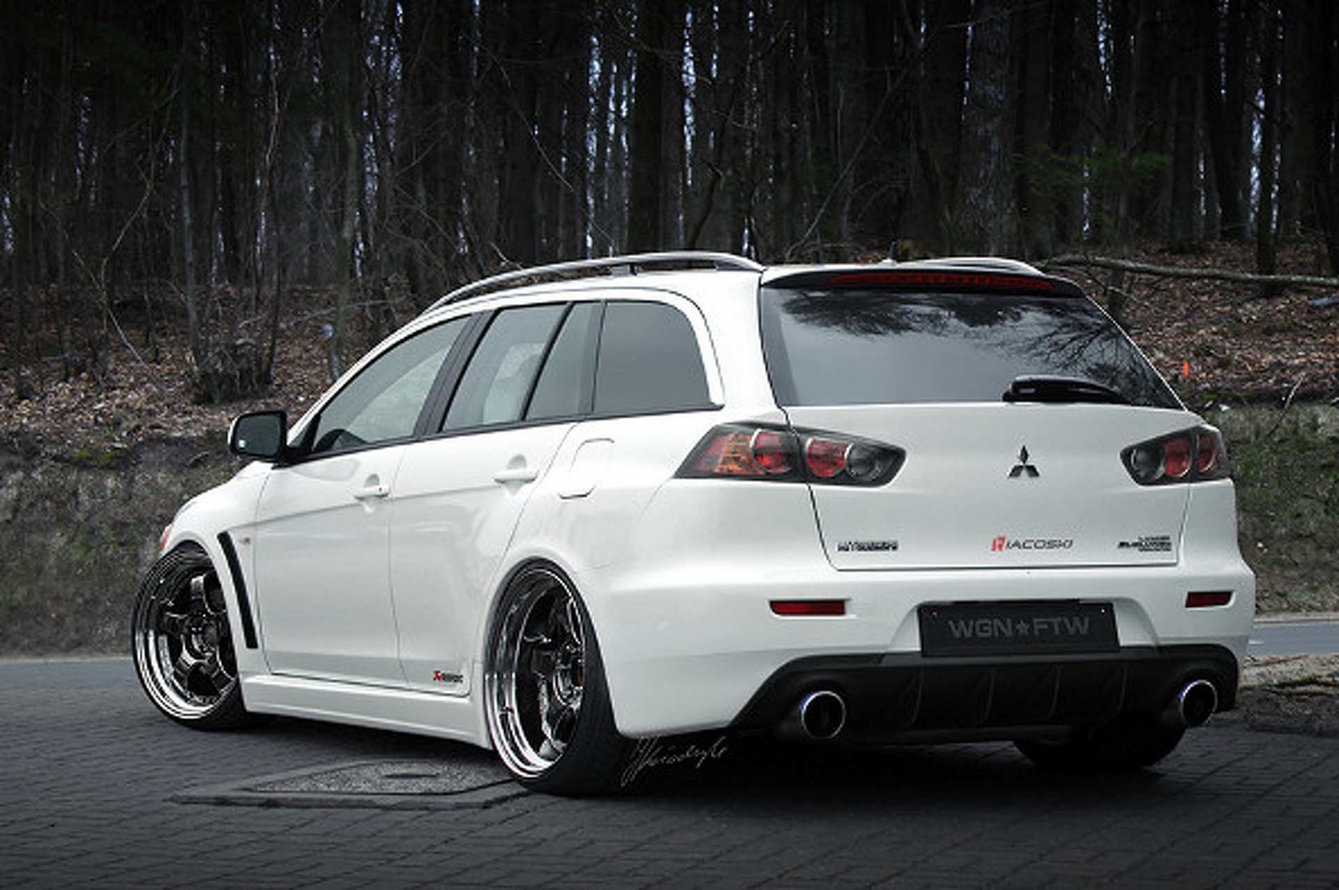 Evo X Wagon Concept Has Junk In Trunk