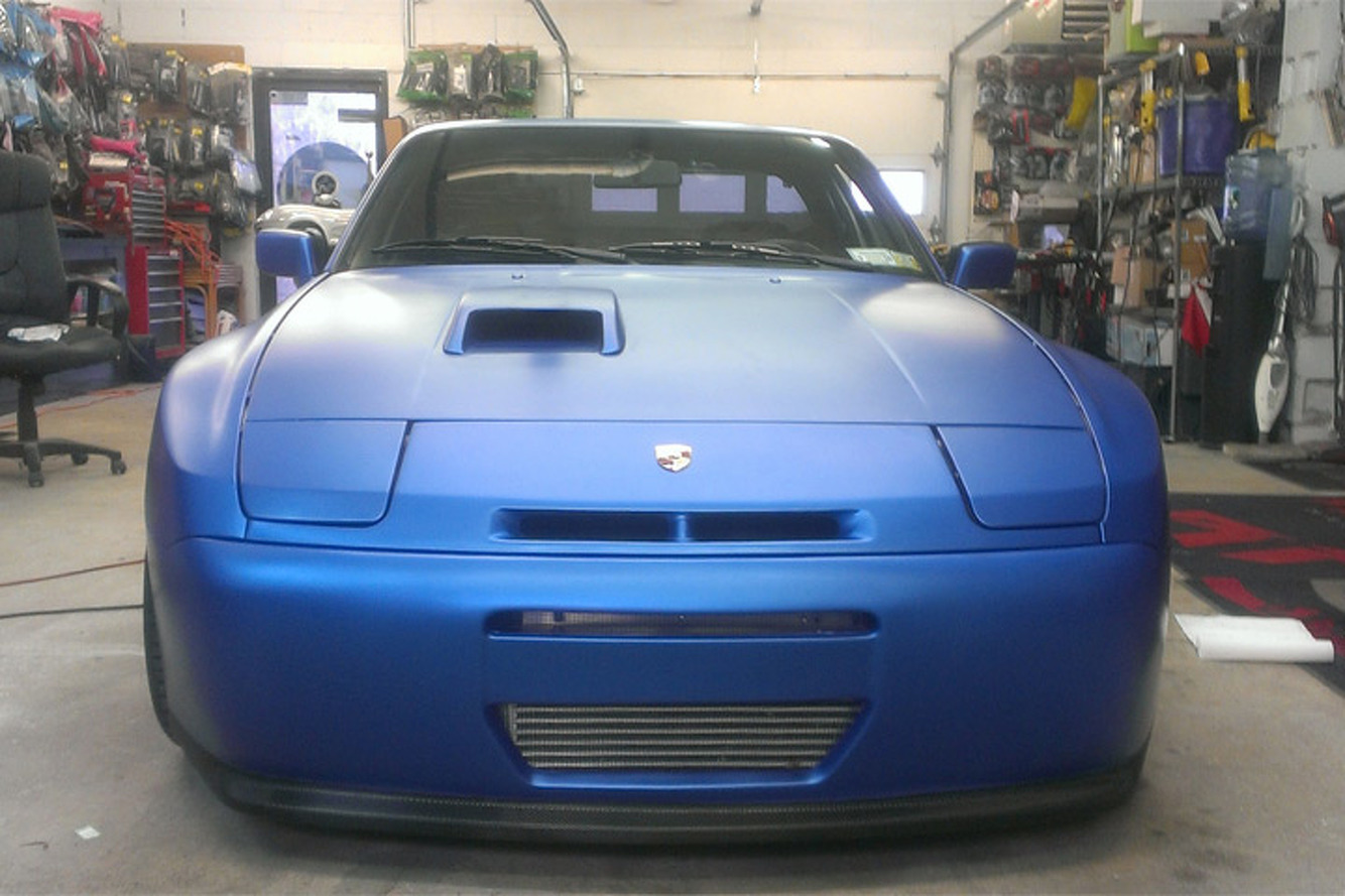 Devon's Blistering Blue '88 Porsche 944 Turbo: Your Ride