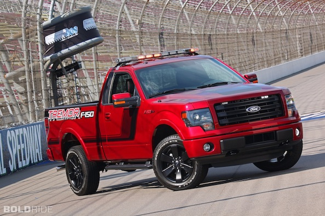 Ford F-150 Tremor Gears Up for NASCAR Duty