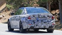 2018 BMW M5 casus fotoğrafı