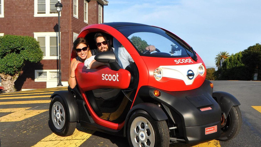 Renault Twizy headed to the U.S. as the Nissan New Mobility Concept