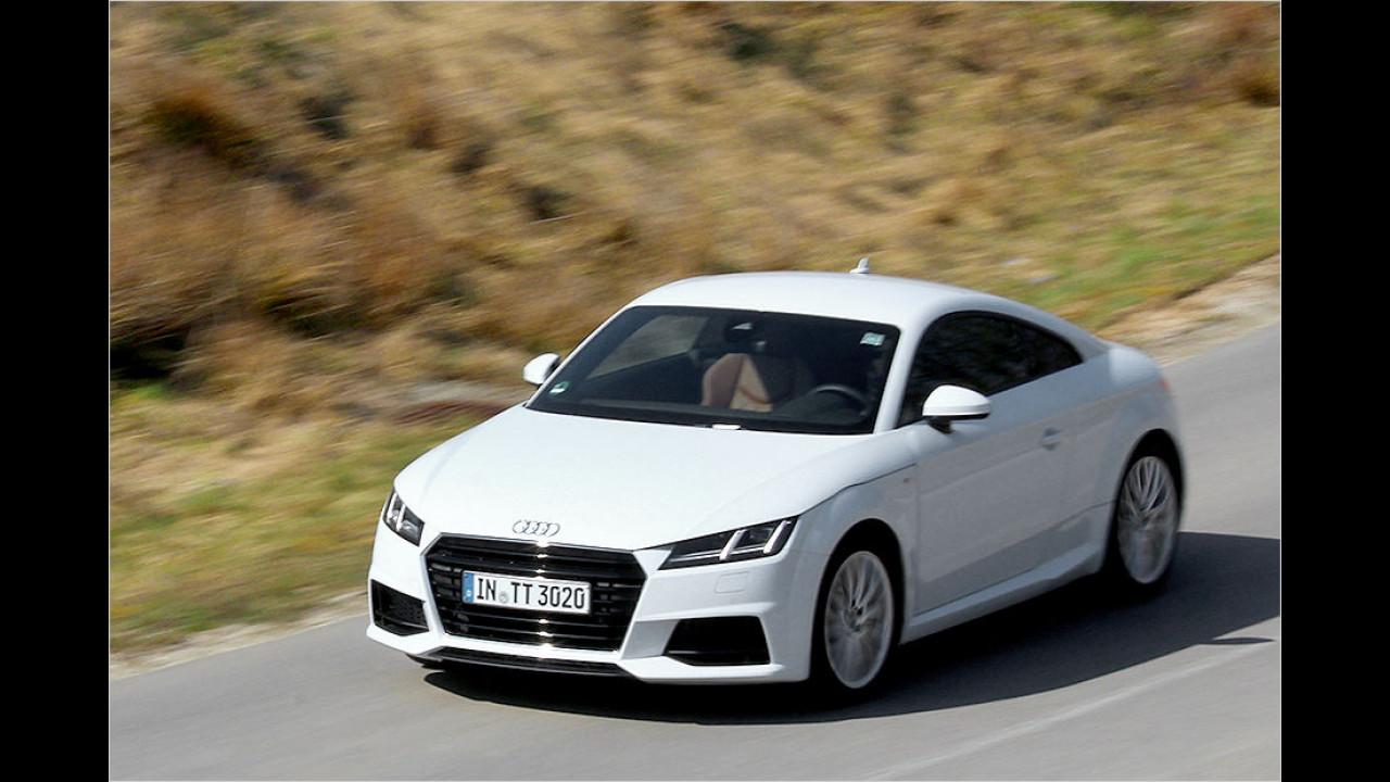 Sportwagen, Platz 2: Audi TT (2.003 Stück)